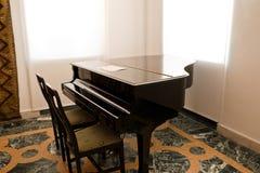 μεγάλο πιάνο συναυλίας Στοκ εικόνες με δικαίωμα ελεύθερης χρήσης