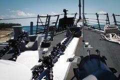 μεγάλο πλοίο καταστρωμά&tau Στοκ φωτογραφίες με δικαίωμα ελεύθερης χρήσης