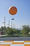 μεγάλο πορτοκαλί πάρκο νομών Καλιφόρνιας μπαλονιών Στοκ φωτογραφία με δικαίωμα ελεύθερης χρήσης