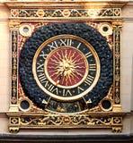 μεγάλο ρολόι Γαλλία Ρο&upsilon Στοκ Εικόνα