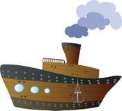 μεγάλο σκάφος Στοκ Εικόνα