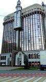 Μεγάλο σύγχρονο κτίριο γραφείων στοκ εικόνες