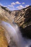 Μεγάλο φαράγγι του Yellowstone Στοκ Φωτογραφία