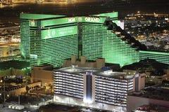 Μεγάλο χαρτοπαικτική λέσχη MGM και ξενοδοχείο και προθήκη Στοκ φωτογραφία με δικαίωμα ελεύθερης χρήσης