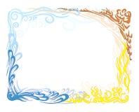 μεγάλο ύδωρ πλαισίων γήινη& Στοκ εικόνες με δικαίωμα ελεύθερης χρήσης