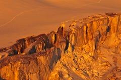 Μεγάλο crevasse στοκ φωτογραφίες με δικαίωμα ελεύθερης χρήσης