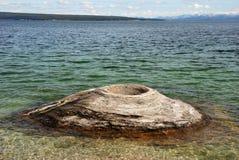 μεγάλο geyser κώνων Στοκ εικόνες με δικαίωμα ελεύθερης χρήσης