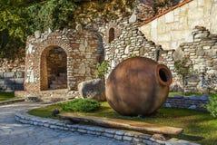 Μεγάλο kvevri, Γεωργία στοκ εικόνες