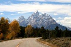 μεγάλο NP teton Wyoming Στοκ φωτογραφίες με δικαίωμα ελεύθερης χρήσης