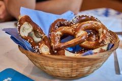 Μεγάλο pretzel Στοκ Εικόνα