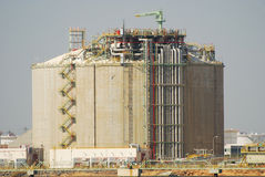 μεγάλο rafinery Ισπανία Στοκ Εικόνα