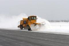 μεγάλο snowplow Στοκ φωτογραφία με δικαίωμα ελεύθερης χρήσης