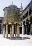 μεγάλο syaria μουσουλμανικών τεμενών της Δαμασκού umayyad στοκ εικόνα με δικαίωμα ελεύθερης χρήσης