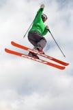 μεγάλο telemark αέρα thule Στοκ φωτογραφία με δικαίωμα ελεύθερης χρήσης