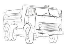 μεγάλο truck Στοκ εικόνες με δικαίωμα ελεύθερης χρήσης