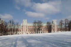 μεγάλο tsaritsino παλατιών της Μόσχας Στοκ Εικόνες