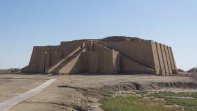Μεγάλο Ziggurat Ur, Ιράκ στοκ εικόνες