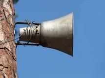 μεγάφωνο Στοκ φωτογραφία με δικαίωμα ελεύθερης χρήσης