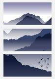 μεγάλα βουνά βουνών τοπίων Στοκ φωτογραφίες με δικαίωμα ελεύθερης χρήσης