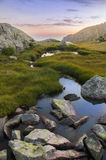 μεγάλα βουνά βουνών τοπίων Στοκ Εικόνα