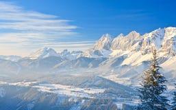 μεγάλα βουνά βουνών τοπίων Schladming australites στοκ εικόνες