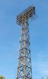 Μεγάλα επίκεντρα που ανάβουν τον πύργο Στοκ Εικόνα