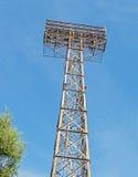 Μεγάλα επίκεντρα που ανάβουν τον πύργο Στοκ Φωτογραφίες