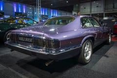 Μεγάλα διακριτικά Coupe, 4 ιαγουάρων XJS αυτοκινήτων tourer 0 λίτρο κατ' ευθείαν έξι, 1993 Στοκ Εικόνα