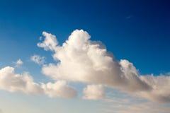 Μεγάλα και όμορφα σύννεφα σωρειτών στοκ φωτογραφία με δικαίωμα ελεύθερης χρήσης