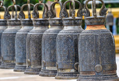 Μεγάλα κουδούνια ορείχαλκου Στοκ εικόνες με δικαίωμα ελεύθερης χρήσης