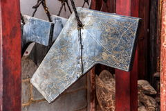 Μεγάλα κουδούνια προαυλίων αιθουσών ναών Jianshui νομαρχιακών διαμερισμάτων Honghe Yunnan Στοκ φωτογραφία με δικαίωμα ελεύθερης χρήσης