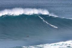 Μεγάλα κύματα @ Nazaré 2016 10 24 Στοκ Φωτογραφίες