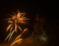 Πυροτεχνήματα στην πόλη arles Στοκ φωτογραφίες με δικαίωμα ελεύθερης χρήσης