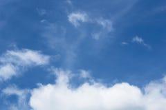 μεγάλα σύννεφα Στοκ εικόνες με δικαίωμα ελεύθερης χρήσης