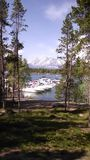μεγάλα tetons Στοκ εικόνες με δικαίωμα ελεύθερης χρήσης