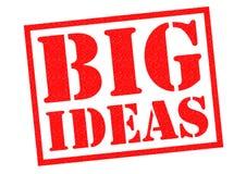 μεγάλες ιδέες διανυσματική απεικόνιση