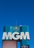 Μεγάλες Λας Βέγκας ξενοδοχείο και χαρτοπαικτική λέσχη MGM Στοκ Εικόνες
