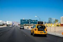Μεγάλες ξενοδοχείο και χαρτοπαικτική λέσχη Λας Βέγκας Νεβάδα MGM Στοκ φωτογραφίες με δικαίωμα ελεύθερης χρήσης