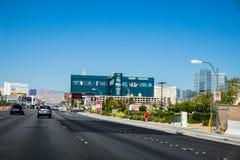 Μεγάλες ξενοδοχείο και χαρτοπαικτική λέσχη Λας Βέγκας Νεβάδα MGM Στοκ Εικόνα