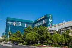 Μεγάλες ξενοδοχείο και χαρτοπαικτική λέσχη Λας Βέγκας Νεβάδα MGM Στοκ φωτογραφία με δικαίωμα ελεύθερης χρήσης