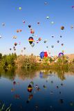 Μεγάλες φυλές μπαλονιών Reno Στοκ φωτογραφίες με δικαίωμα ελεύθερης χρήσης