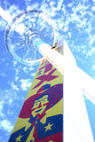 Μεγάλες Tex και κορυφή του πύργου του Τέξας στο δίκαιο πάρκο Στοκ Φωτογραφίες