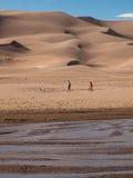 μεγάλη άμμος αμμόλοφων Στοκ Εικόνα