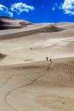μεγάλη άμμος αμμόλοφων Στοκ Φωτογραφίες