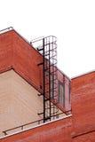 μεγάλη έξοδος κινδύνου σε ένα κτήριο από τη στέγη Στοκ εικόνες με δικαίωμα ελεύθερης χρήσης