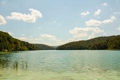 Μεγάλη λίμνη Plitvice Στοκ Εικόνες