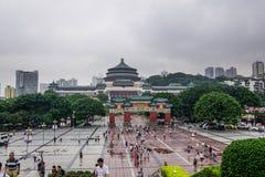 Μεγάλη αίθουσα ανθρώπων Chongqing, Κίνα Στοκ Εικόνα