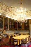 Μεγάλη αίθουσα, νορμανδικό παλάτι 12ου Γ, Παλέρμο στοκ εικόνα