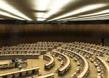 Μεγάλη αίθουσα συνεδρίασης Στοκ Εικόνα
