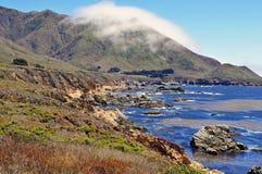 Μεγάλη ακτή Καλιφόρνια Sur Στοκ εικόνα με δικαίωμα ελεύθερης χρήσης